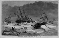 SHIPWRECK DISASTER TO SHIPPING IN THE WHITE SEA SHIPS ICE SHIPPING NAUTICAL