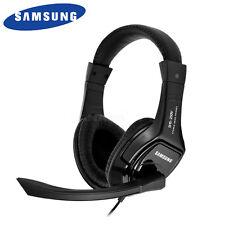 Genuine SAMSUNG SHS 250V Stereo Headset Headphone Mic for PC 3.5mm jack