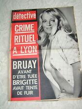 Détective 1972 SéZANNES BRUAY EN ARTOIS SAINT GHISLAIN