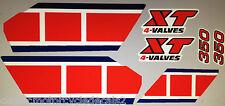 YAMAHA XT350 DECAL SET