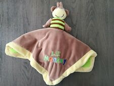 Baby Essentials Lil Monkey King of the Jungle Lion 2 Sided Flip Lovey plush toy