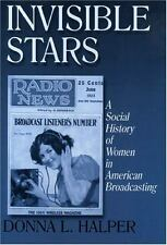 Invisible Stars: A Social History of Women in American Broadcasting (Media,