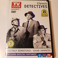 Tv Guide Presents Classic Detectives  💿 : Sherlock,Dick Tracy, Dragnet,LoneWolf