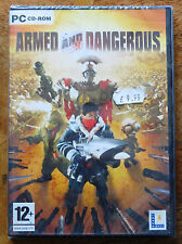 Armed and Dangerous - NEW and Sealed (PC CD-ROM) Lucas Arts