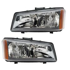 Chevy Silverado 1500 2500 03-04  Pair Set of 2 Headlights Head Lamps Eagle Eyes