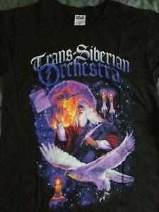 NWOT Trans Siberian Orchestra Winter Tour 2011 Concert Tour T Shirt Small NEW