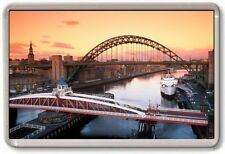 FRIDGE MAGNET - NEWCASTLE CITY - Large Jumbo - Tyneside England UK