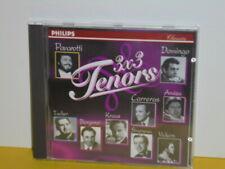 CD - 3 x 3 TENORS - PAVAROTTI, DOMINGO, CARRERAS...