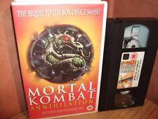 Mortal Combat - Annihilation - Big box original release