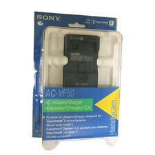 SONY AC-VF50 Portable AC Adaptor, Charger for Info LITHIUM F NP-FF50 / NP-FF70