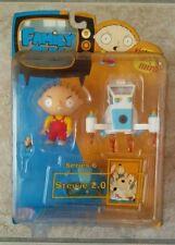 "FAMILY GUY Stewie 2.0 RARE Series 6 NIP 3"" Figure w/Mini Spaceship, Helmet & Gun"
