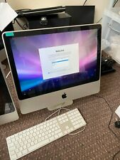 """IMac 9.1 20"""" core 2 duo 1GB RAM 240GB Hard Drive - excellent condition - A1224"""