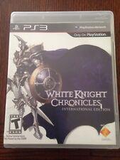 Sony PlayStation 3 White Knight Chronicles: International Edition