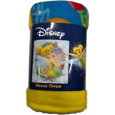 "Tinker Bell Sweet Kisses Fleece Throw Blanket 50"" x 60"""