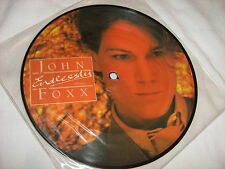 "JOHN FOXX Endlessly/Young Man PICTURE DISC 7"" single VINYL 45 record EX Ultravox"