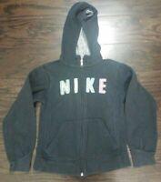 Vintage Nike Air Full Zip Embroidered Hoodie Hooded Sweatshirt Youth Size Medium