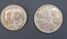 2 - Greek 30 Drachmai Silver Coins