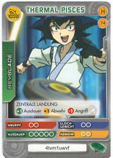 H 74 Thermal Pisces - DeAGOSTINI Beyblade Battle Card Collection 2011 (6)