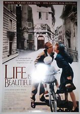 "Life Is Beautiful (1998) original one sheet movie poster (27""x40"") S/S"