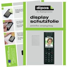 2x AVM Fritz!Fon MT-F Schutzfolie matt Displayschutzfolie Folie dipos