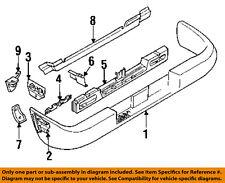 ISUZU OEM 92-02 Trooper Rear Bumper-Bumper Cover Bracket Left 8978001191