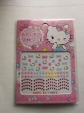 Hello Kitty Nail Art-Package of Nail Stickers/Decals-VERY CUTE!!-NIP/Great Gift!