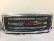 14-15 SIERRA 1500 GRILLE CHROME & BLACK GRILLE FITS 1682489 Work Truck Grill