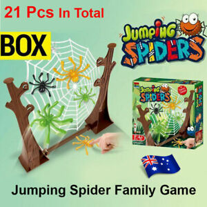 Children Jumping Spiders Web Game Funny Board Game Toys Family Interactive Game