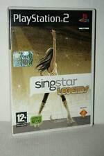 SINGSTAR LEGENDS SING STAR USATO OTTIMO STATO PS2 VERSIONE ITALIANA GD1 53266