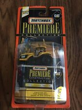 Matchbox Premiere Construction Collection Limited Edition Challenger Tractor New