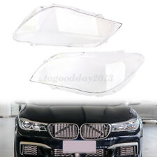 For BMW 7 Series F01/F02 2009-2015 Car Front Pair Headlight Lens Replace Cover
