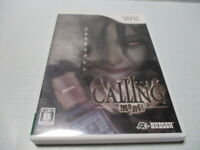 Calling: Black Incoming Call Nintendo Wii Used Japan Import Survival Horror Game