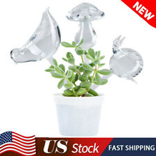 New listing Garden Auto Plant Self Watering Tools Glass Flowers Water Feeder Bird Waterer