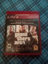 Grand Theft Auto IV -- Complete Edition (Sony PlayStation 3, 2008)
