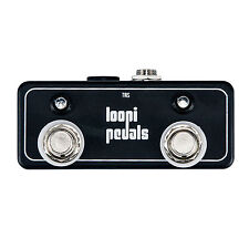 Dual Amp Channel LED w/ 9v DC Footswitch - Latching Switch - Loopi Pedals