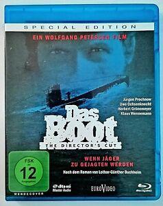 Blu-ray - Das Boot - Special Edition & Director's Cut - Jürgen Prochnow