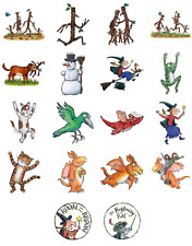 ROOM ON THE BROOM STICK MAN ZOG LOT OF  STICKER WALL DECAL CHARACTERS