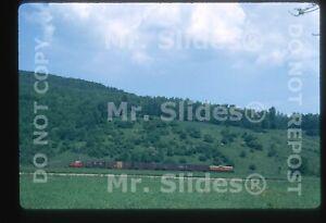 Original Slide WA&G Wellsville Addison & Galeton GE125T 1700 Action In 1970