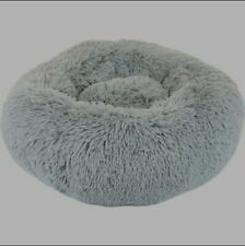 Pet bed Fur Donut For Small Pets 24inch Precius Tails Eyelash
