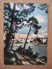 CPA Environs d'AURAY (56 MORBIHAN) LE BONO, LE PORT. BORD DE MER,  TIMBREE 1952