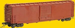 Kadee ~ HO scale #4115 ~ Undecorated 50' PS-1 Boxcar Kit ~ Hydro Cushion w/ walk