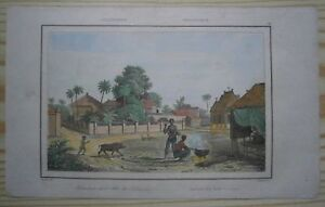 1836 print SCENE FROM ISLAND OF LUZON, PHILIPPINES (#72)