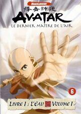 Avatar Le dernier maître de l'air livre 1 l'eau volume 1 DVD NEUF SOUS BLISTER