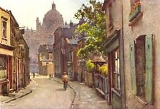 Lancelot Place, Knightsbridge. London. By Ernest Haslehust 1920 old print