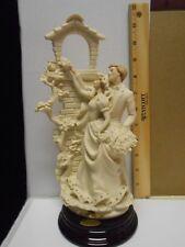 Giuseppe Armani Florence Love In Bloom- Wedding Figurine 0201F Italy 1992
