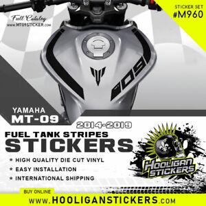 Yamaha MT-09 curve fuel tank stickers [M960]