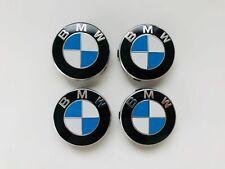 4x Original BMW 56mm Felgendeckel Nabenkappe Nabendeckel Nabenabdeckungen Emblem