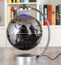 "8"" Anti Gravity Floating Globe LED Light Magnetic Levitation Globe Map"
