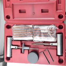 Emergency Car Van Motorcycle Tubeless Tyre Puncture Repair Kit 30 Strings Glue