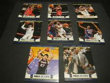 2012/13 Panini NBA Hoops Atlanta Hawks Team Set 8 Cards